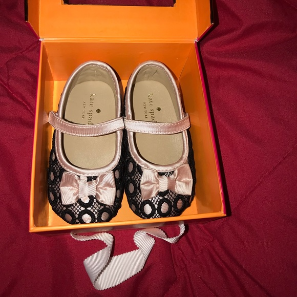 8e765a4ef8d3 Kate Spade baby girl shoes - 9 - 12 months